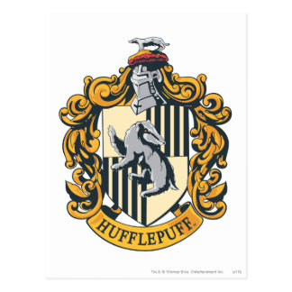 Hufflepuff Crest Postcard