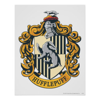 Hufflepuff Crest Posters