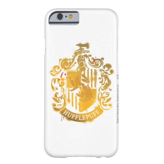 Hufflepuff Crest - Splattered Barely There iPhone 6