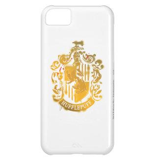 Hufflepuff Crest - Splattered iPhone 5C Case