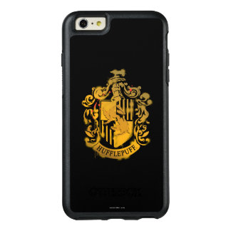 Hufflepuff Crest - Splattered OtterBox iPhone 6/6s Plus Case