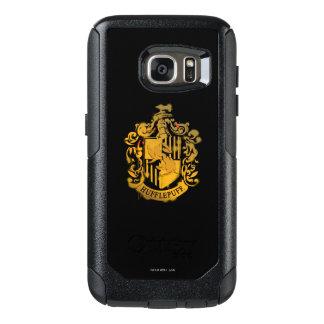 Hufflepuff Crest - Splattered OtterBox Samsung Galaxy S7 Case