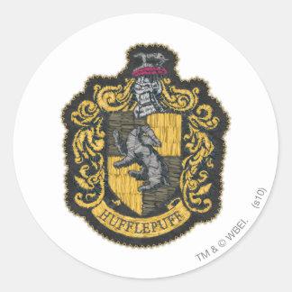 Hufflepuff Crest Classic Round Sticker