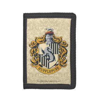 Hufflepuff Crest Tri-fold Wallet