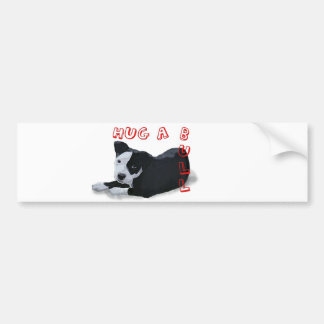 Hug-A-Bull Bumper Sticker