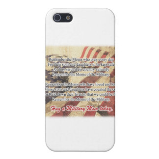 Hug a Military Mom Tote Bag Case For iPhone 5