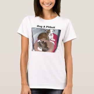 Hug A Pitbull t-shirt