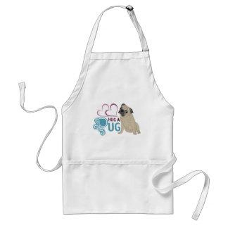 hug a pug standard apron