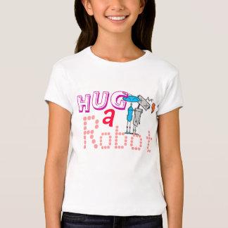 Hug-a-Robot Girl's Tee