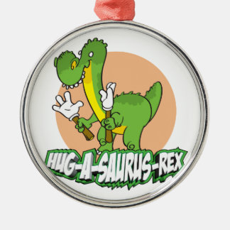 Hug-a-saurus Rex Christmas Ornament
