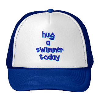 Hug A Swimmer Today Cap