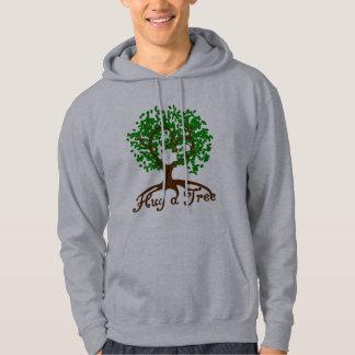 Hug a Tree Adult Hoodie