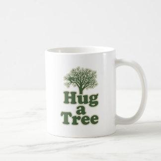 Hug a Tree for Earth Day Coffee Mug