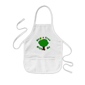 Hug a Tree Kids Apron