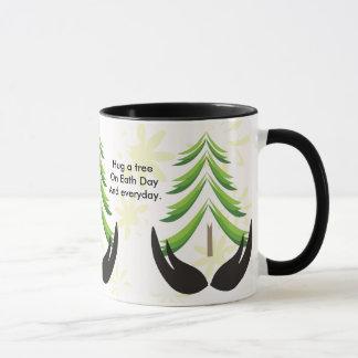 Hug A Tree On Earth Day Mug