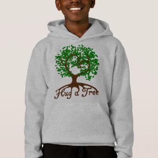 Hug a Tree Youth Hoodie