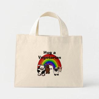 Hug a Veggie Tote Bag