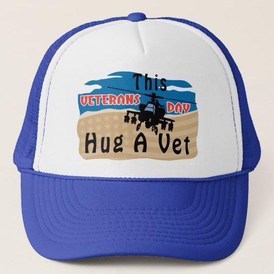 Hug A Vet Trucker Hat