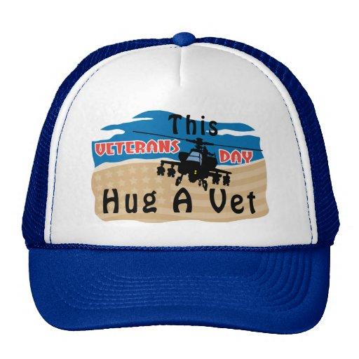 Hug A Vet Trucker Hats