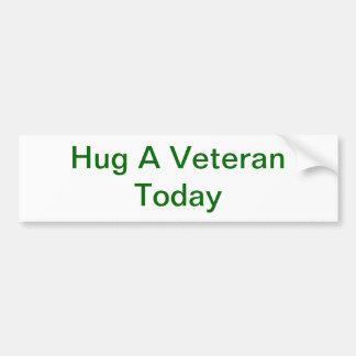 Hug A Veteran Bumper Sticker