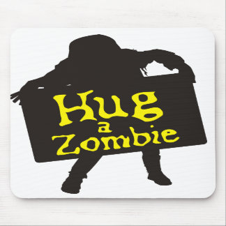 Hug a Zombie Mousepad