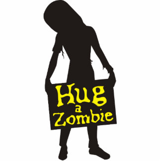 Hug a Zombie Photo Sculpture