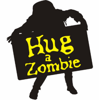 Hug a Zombie Photo Sculpture 2