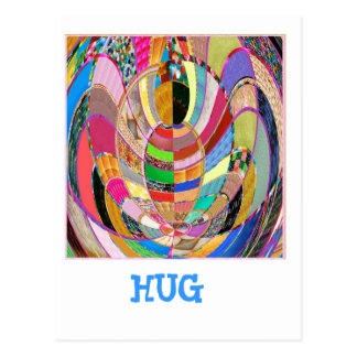 HUG - an artistic presentation Postcards