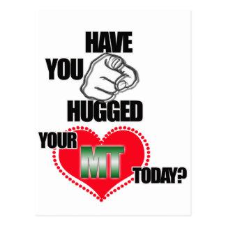 HUG AN MT TODAY! MEDICAL TECHNOLOGIST (LABORATORY) POSTCARD