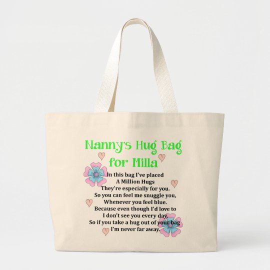 Hug bag for Grandaughter