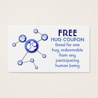 Hug Coupon Business Card