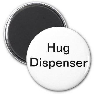 Hug Dispenser 6 Cm Round Magnet