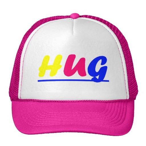 hug trucker hats