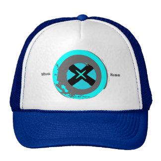 Hug & Kiss Blue Valentine's Hat