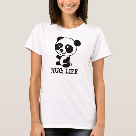 HUG LIFE, Panda Bear T-shirts