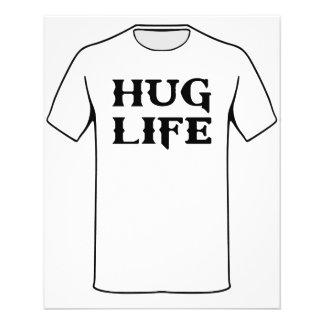 Hug Life Thug Life 11.5 Cm X 14 Cm Flyer