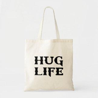 Hug Life Thug Life Tote Bags
