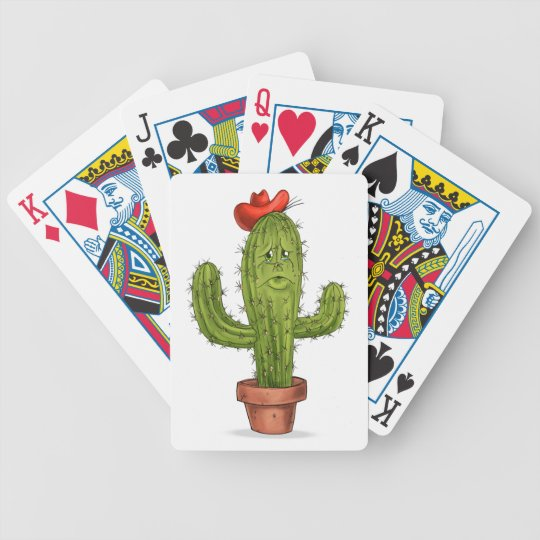 Hug Me Cactus Playing Cards