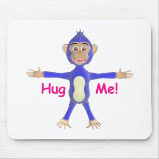 Hug Me Chimp Mouse Pad