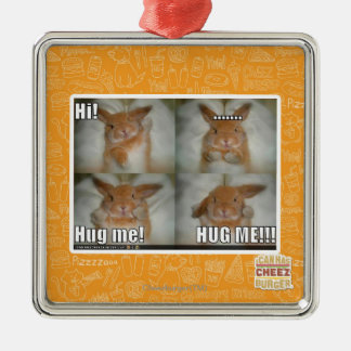 Hug me christmas ornament