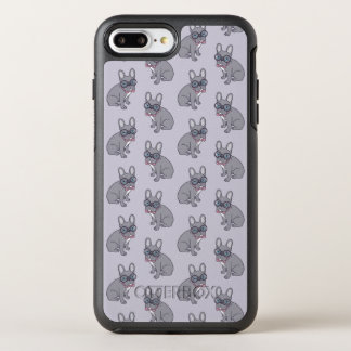 Hug me, cute Lilac Frenchie needs a hug OtterBox Symmetry iPhone 8 Plus/7 Plus Case