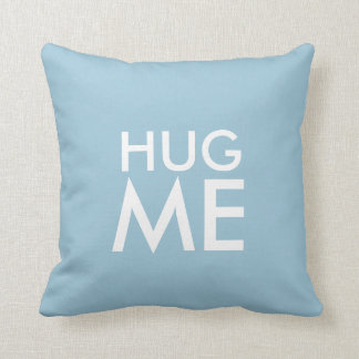 Hug Me Designer Throw Pillow