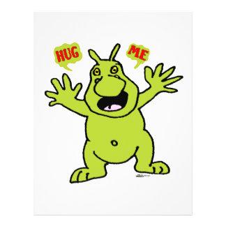 Hug Me! Custom Flyer