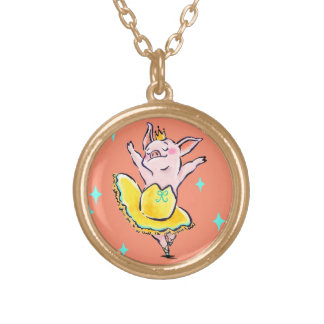 Hug Me! Gold Plated Necklace