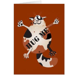 """""""Hug Me"""" Greeting Card"""