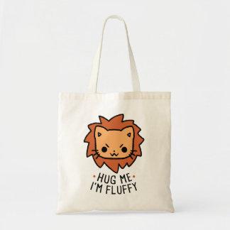 Hug Me I' m Fluffy Budget Tote Bag