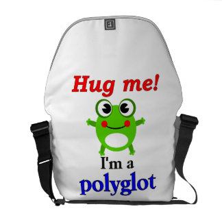 Hug me! I'm a polyglot Messenger Bag