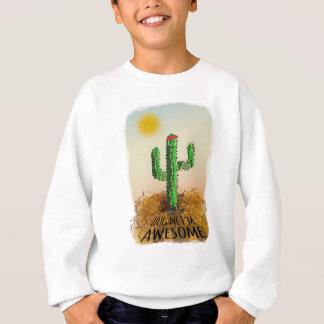 Hug me im awesome sweatshirt