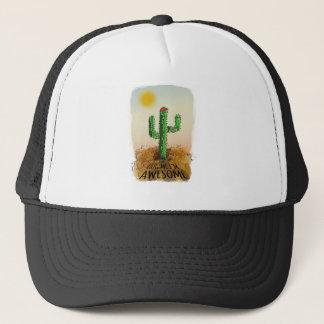Hug me im awesome trucker hat
