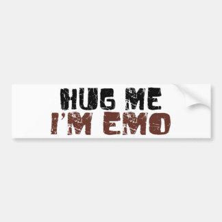 Hug Me I'M Emo Bumper Stickers